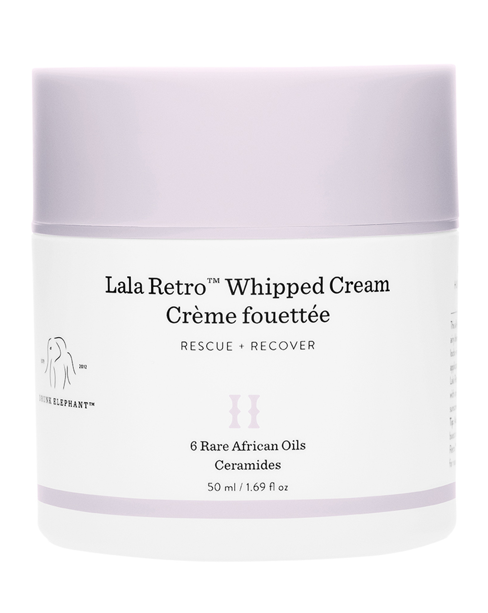 DRUNK ELEPHANT      Lala Retro™ Whipped Moisturizer with Ceramides